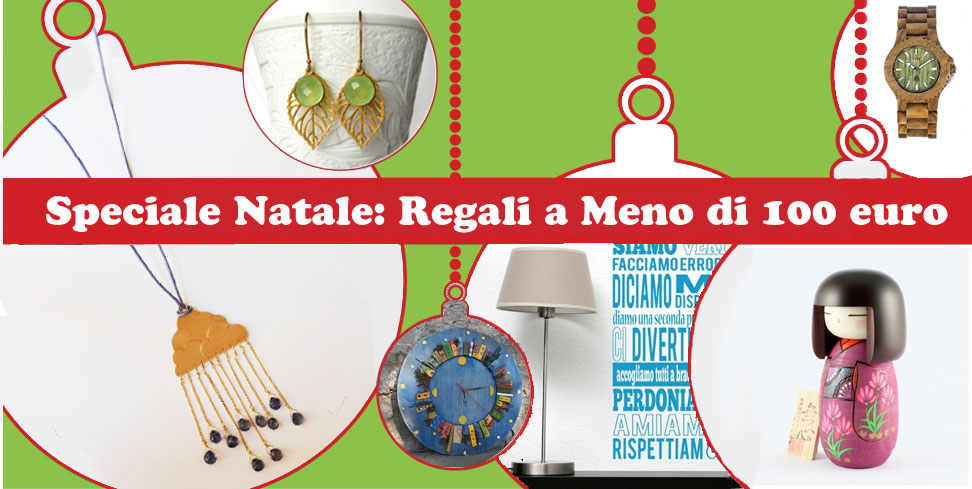 Natale regali a meno di 100 euro blomming blog su shopping for Regali di natale a 1 euro
