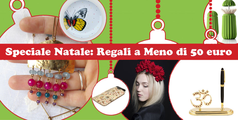 Natale regali a meno di 50 euro blomming blog su shopping for Regali di natale a 1 euro