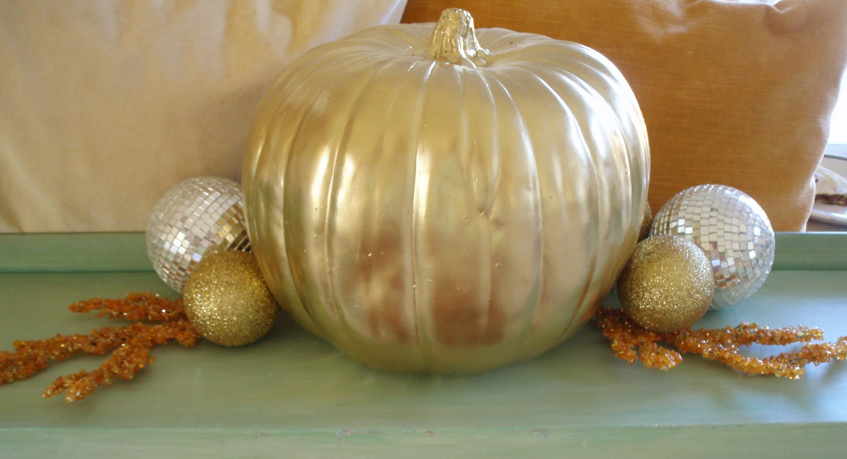 Glam Golden Pumpkin via Kandeeland