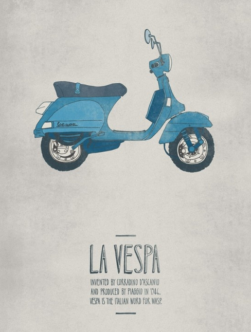 vespa the vintage timeless classic blomming blog about