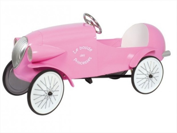 pushcar-pink-girl pushcar-toy-christmas-retro model car- model car