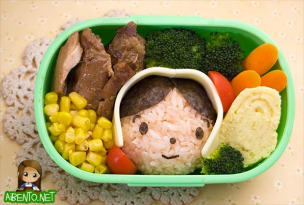 how to make a bento box with rice the best packed lunch ever blomming blog about food. Black Bedroom Furniture Sets. Home Design Ideas