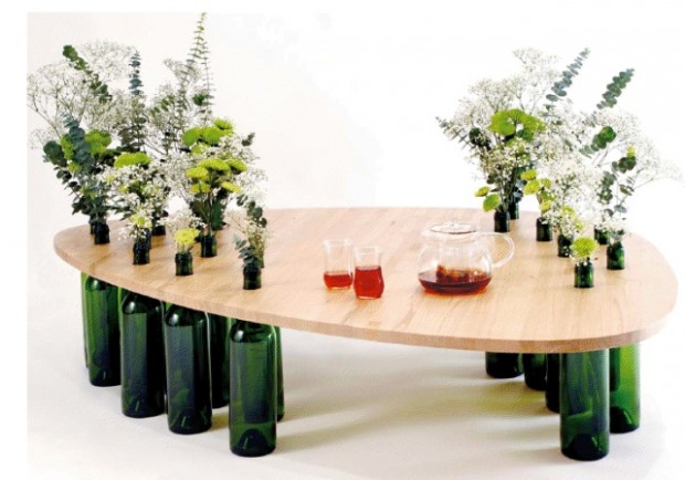 todo design-wooden tables-bottle table-personalize tables