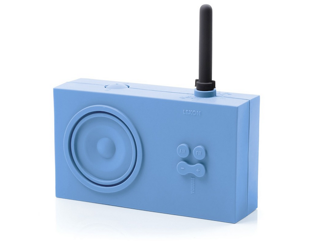 Silicon Radio Shower Radio Singing In The Rain Radio Blue Silicon Radio
