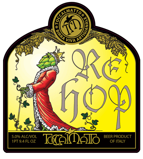 king of hops-toccalmatto brewery-re hop