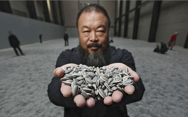 Ai wei wei-sunflower seeds-sunflower tate modern-ai wei wei tate modern-sunflower exhibition
