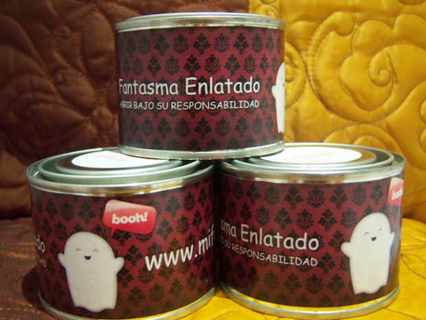 canned ghost-ghost in a can-fantasma elatado