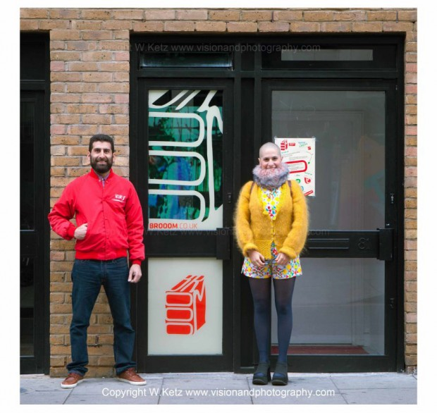Brooom gallery in London, a project by Frida and Magid