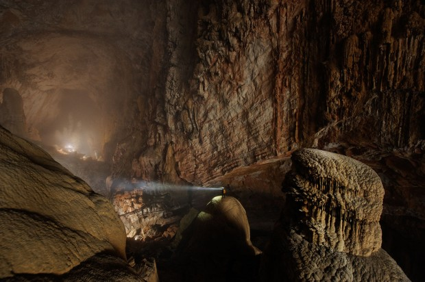 The Hang Son Doong cave in Quang Binh Province, Vietna